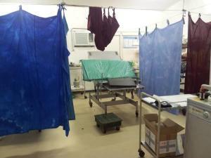 Popondetta General Hospital Labour Ward.