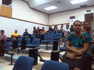Medical students enjoyed the session